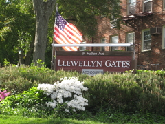 Entrance to the Llewellyn Gates in West Orange NJ